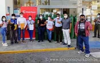 Miski Mayo se une a campaña 'Respira Sechura' y dona 20 balones de oxígeno - El Regional