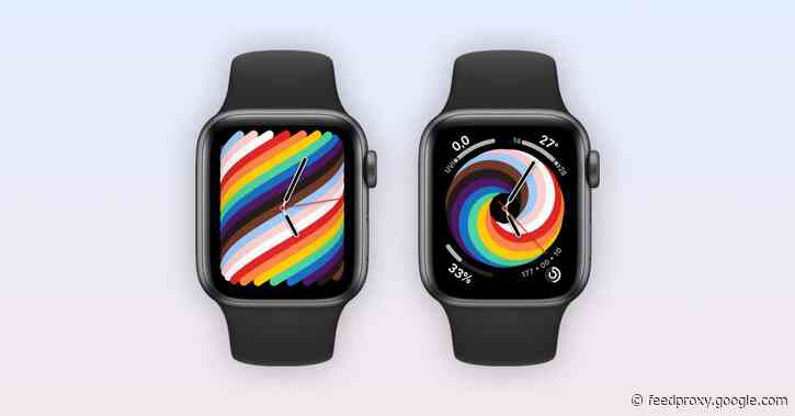 Gallery: Here's a first look at the new 2021 'Pride Woven' Apple Watch face