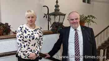 Meet Liskeard's new mayor and deputy | News - The Cornish Times