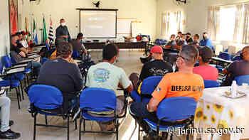 Segurança Pública de Jarinu faz treinamento com GM, Defesa civil e Trânsito - Prefeitura Municipal de Jarinu