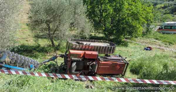 San Mauro Forte: il trattore si ribalta e lo investe, 49enne muore sul lavoro - La Gazzetta del Mezzogiorno