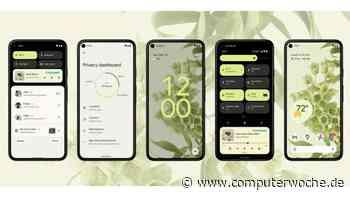 Android 12 vorgestellt: Großes Design-Update mit neuen Funktionen