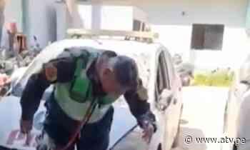 Pisco: Policías celebran cumpleaños en comisaría - ATV.pe