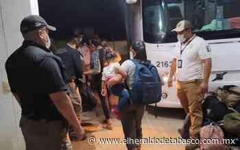 Caen presuntos polleros en Macuspana; aseguran a 32 ilegales - El Heraldo de Tabasco