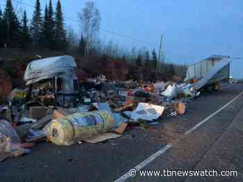 Transport driver charged after crash near Nipigon - Tbnewswatch.com