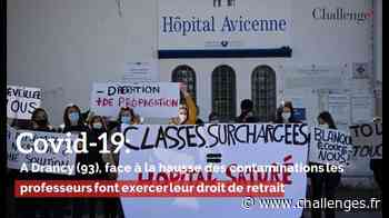 Covid-19: A Drancy, face à la hausse des contaminations les professeurs font exercer leur droit de retrait - Challenges - Challenges.fr