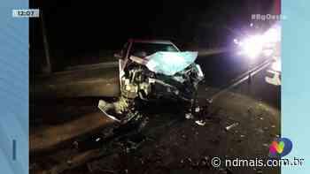 Xaxim: motorista fica ferido depois de se envolver em acidente - ND Mais