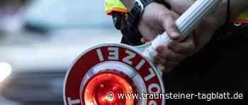 Geschwindigkeitsmessung auf der A8: Fahrverbot und Bußgelder - Traunsteiner Tagblatt