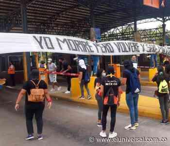 Protesta de jóvenes en Turbaco   EL UNIVERSAL - Cartagena - El Universal - Colombia