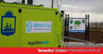 Recolección Diferenciada: instalan punto verde móvil en el San Benito de Río Gallegos - Tiempo Sur