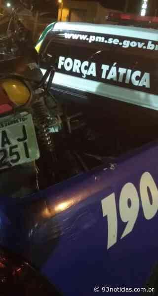 PM prende assaltante e recupera moto roubada em Tobias Barreto - 93Notícias