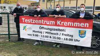 Corona in Oberhavel: Corona-Teststation zu Pfingsten auf dem Spargelhof in Kremmen? - moz.de