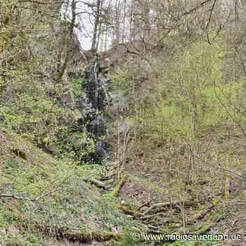 Bestwig-Wasserfall: Steg an der Plästerlegge angelegt - Radio Sauerland