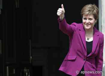 Sturgeon: Scotland independence vote matter of when, not if - The Associated Press