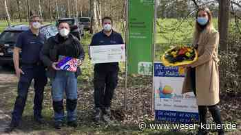 Blumige Spende: 1500 Euro für SOS-Kinderdorf Worpswede - WESER-KURIER - WESER-KURIER