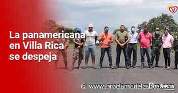 Desbloquean vía Panamericana en Villa Rica a través del diálogo – - Proclama del Cauca