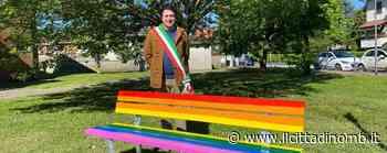 Panchina arcobaleno a Ornago: «Simbolo dell'amore senza pregiudizi» - Il Cittadino di Monza e Brianza
