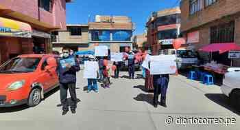 Lampa: Realizan marcha de sensibilización por el Día Mundial de la Hipertensión Arterial - Diario Correo