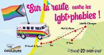 Sur la route contre les LGBT+phobies Saint-Vincent-de-Tyrosse samedi 22 mai 2021 - Unidivers