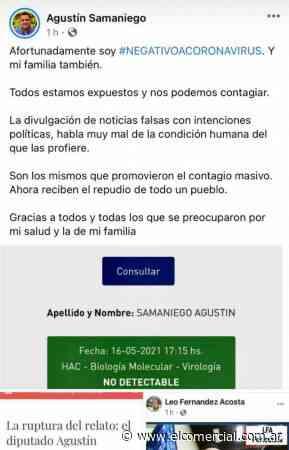 Samaniego presentó un PCR negativo pero su permiso de circulación decía que debía estar en cuarentena - El Comercial.com.ar