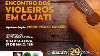 Encontro de Violeiros faz parte das comemorações do 29º aniversário de Cajati. - Adilson Cabral
