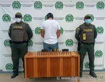 En Uribia: Cae sujeto que tenía en su poder proveedores para fusil y 82 cartuchos - Diario del Norte.net