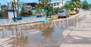 Impresionante fuga de agua en Pueblo Viejo - Vanguardia de Veracruz