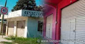 Cerrados comercios en la Anáhuac, en Pueblo Viejo - Vanguardia de Veracruz