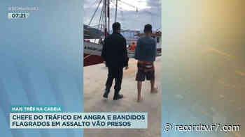 RJ: três criminosos de Angra dos Reis são presos - Record TV