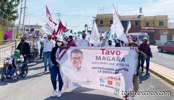 LA COALICIÓN JUNTOS HAREMOS HISTORIA EN HIDALGO SE DESBORDA EN TLAHUELILPAN - Noticias de Texcoco