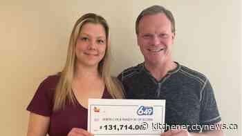 'A surreal feeling': Elora couple wins $131K in Lotto 6/49 draw - CTV Toronto