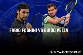 Geneva Open 2021 LIVE: Fabio Fognini vs Guido Pella, Head-to-Head, LIVE streaming - InsideSport