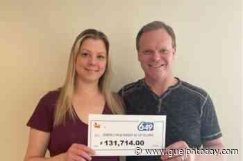 Elora couple is $132,000 richer - Guelph News - GuelphToday