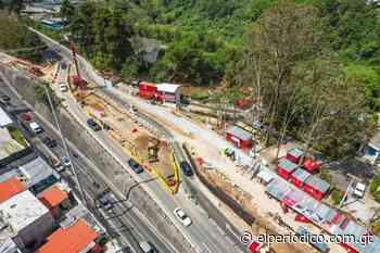 Construcción del paso a desnivel de Santa Catalina de Alejandría iniciará tercera fase - elPeriódico (Guatemala)