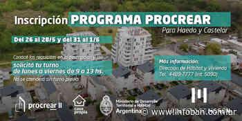 Reabren la preinscripción para las viviendas del Procrear en Castelar Sur y Haedo - InfoBan
