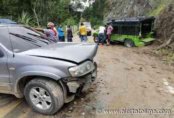 Choque entre camioneta y campero dejó 7 personas lesionadas en San Bernardo - Alerta Tolima