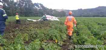 Atención: Avioneta se precipito a tierra en Sierra de Tabio - HSB Noticias