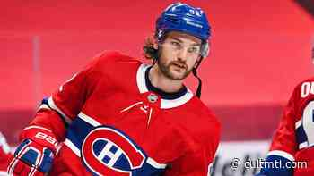 Montreal Canadiens nominate Drouin for King Clancy Memorial Trophy - Cult MTL