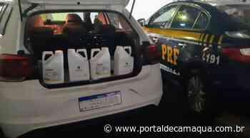 PRF apreende agrotóxicos na BR-158 em Santana do Livramento - Portal de Camaquã