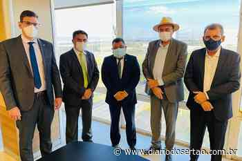 Após audiência em Brasilia, Jeová Campos anuncia visita técnica em obras da transposição no Sertão da PB - Diário do Sertão