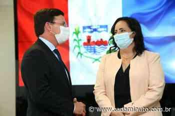 Em Brasilia, secretaria Fabiana Pessoa tem audiência com ministro da Cidadania, João Roma - Cada Minuto