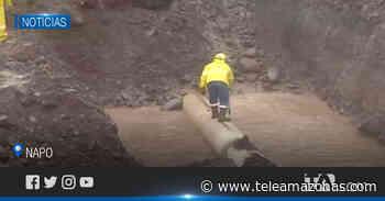 Afectaciones en la vía Quito - Tena por erosión regresiva del río Coca La erosión regresiva del - Teleamazonas