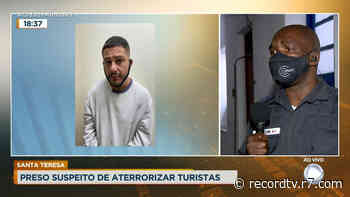 Rio: ladrão especializado em roubo de turistas é preso em Santa Teresa - Record TV