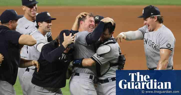 Yankees' Corey Kluber silences Rangers for MLB's sixth no-hitter this season