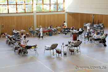 Neuer Rekord in Schierling - So viele Blutspender wie noch nie - idowa