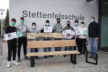 Mitfahrbänkle in Untergruppenbach: Platz nehmen zum Mitnehmen - Heilbronner Stimme