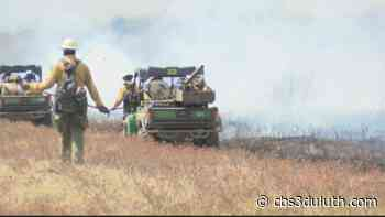 Prescribed burn torches nearly 1500 acres in Chequamegon-Nicolet National Forest - CBS 3 Duluth