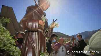 La bénédiction de San Teofalu à Corte - Corse-Matin