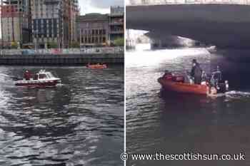 River Clyde search operation underway after reports 'person entered water' in Glasgow... - The Scottish Sun