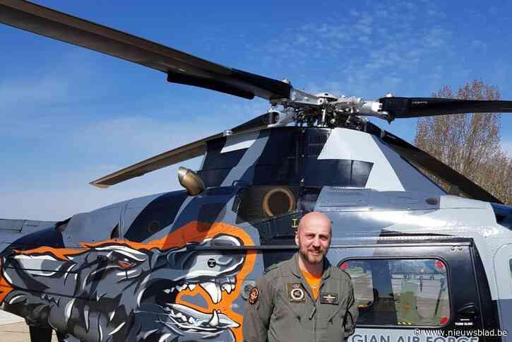 """Majoor-vlieger Björn Gielis: """"We willen het leger dichter bij de bevolking brengen."""""""